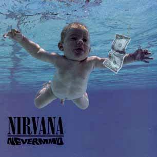 Paroles de chansons et pochette de l'album Nevermind de Nirvana