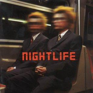 Paroles de chansons et pochette de l'album Nightlife de Pet Shop Boys