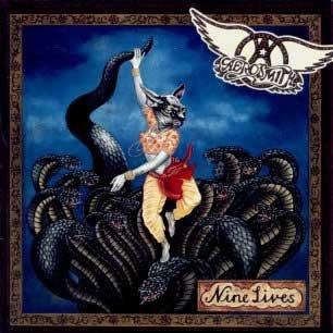 Paroles de chansons et pochette de l'album Nine lives de Aerosmith