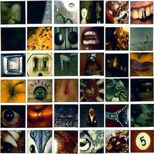 Paroles de chansons et pochette de l'album No code de Pearl Jam
