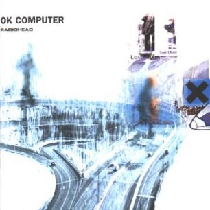 Paroles de chansons et pochette de l'album Ok computer de Radiohead