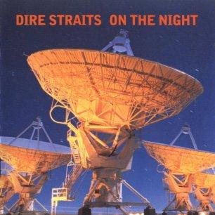 Paroles de chansons et pochette de l'album On the night de Dire Straits