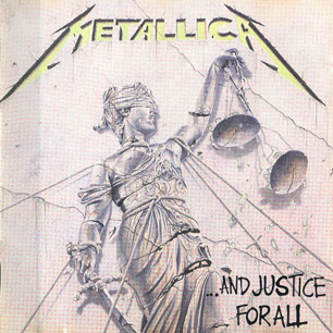 Paroles de chansons et pochette de l'album ...and justice for all de Metallica