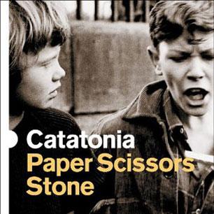 Paroles de chansons et pochette de l'album Paper scissors stone de Catatonia