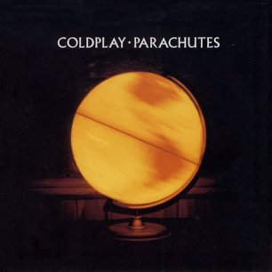 Paroles de chansons et pochette de l'album Parachutes de Coldplay