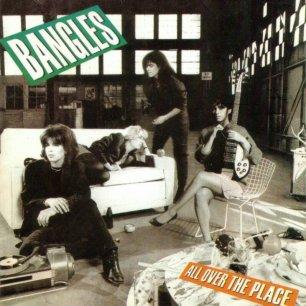 Paroles de chansons et pochette de l'album All over the place de Bangles
