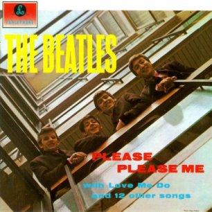 Paroles de chansons et pochette de l'album Please please me de Beatles