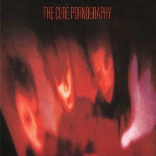 Paroles de chansons et pochette de l'album Pornography de Cure