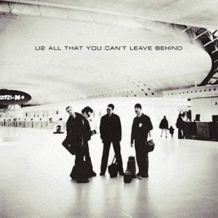 Paroles de chansons et pochette de l'album All that you can't leave behind de U2