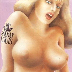 Paroles de chansons et pochette de l'album Première bordée de Soldat Louis