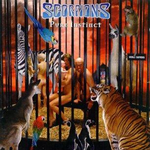 Paroles de chansons et pochette de l'album Pure instinct de Scorpions
