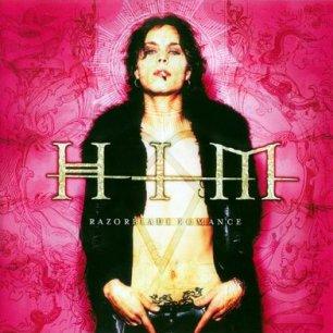 Paroles de chansons et pochette de l'album Razorblade romance de Him