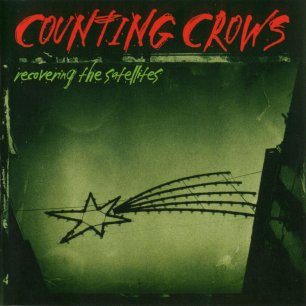 Paroles de chansons et pochette de l'album Recovering the satellites de Counting Crows