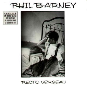 Paroles de chansons et pochette de l'album Recto verseau de Phil Barney