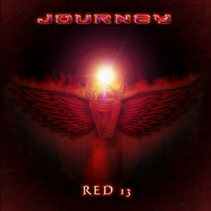 Paroles de chansons et pochette de l'album Red 13 de Journey
