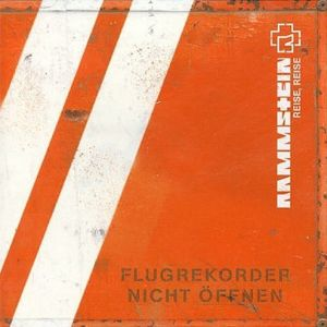 Paroles de chansons et pochette de l'album Reise, reise de Rammstein