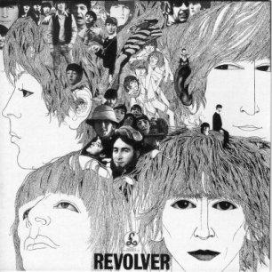 Paroles de chansons et pochette de l'album Revolver de Beatles
