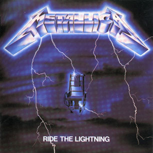 Paroles de chansons et pochette de l'album Ride the lightning de Metallica