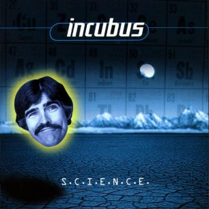Paroles de chansons et pochette de l'album S.c.i.e.n.c.e. de Incubus