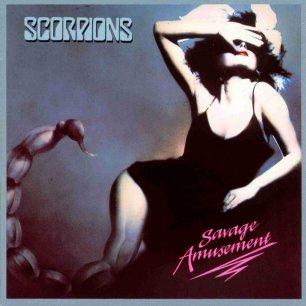 Paroles de chansons et pochette de l'album Savage amusement de Scorpions