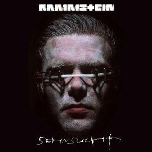 Paroles de chansons et pochette de l'album Sehnsucht de Rammstein