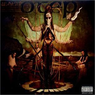 Paroles de chansons et pochette de l'album Sevas tra de Otep