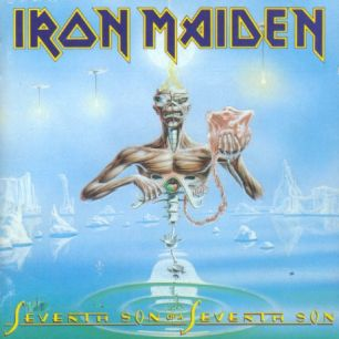 Paroles de chansons et pochette de l'album Seventh son of a seventh son de Iron Maiden