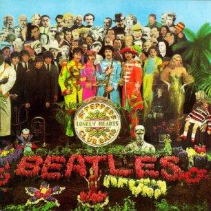 Paroles de chansons et pochette de l'album Sgt. pepper's lonely hearts club band de Beatles