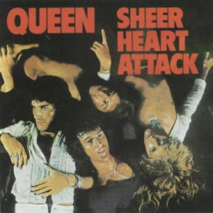 Paroles de chansons et pochette de l'album Sheer heart attack de Queen