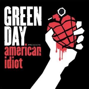 Paroles de chansons et pochette de l'album American idiot de Green Day
