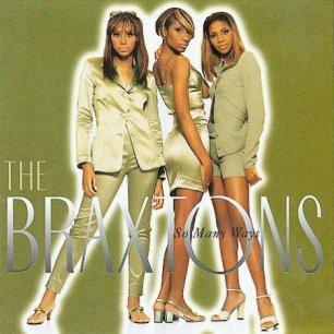 Paroles de chansons et pochette de l'album So many ways de Braxtons