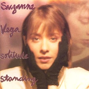 Paroles de chansons et pochette de l'album Solitude standing de Suzanne Vega