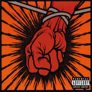 Paroles de chansons et pochette de l'album St. anger de Metallica