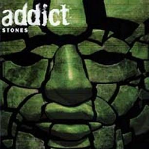 Paroles de chansons et pochette de l'album Stones de Addict
