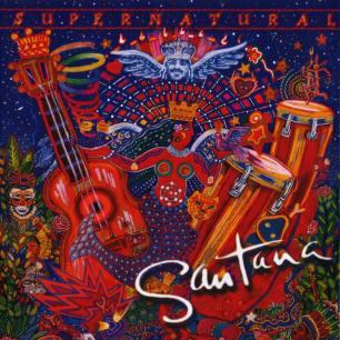 Paroles de chansons et pochette de l'album Supernatural de Santana