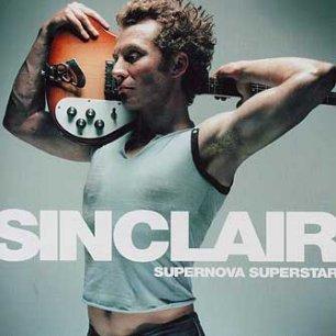 Paroles de chansons et pochette de l'album Supernova superstar de Sinclair