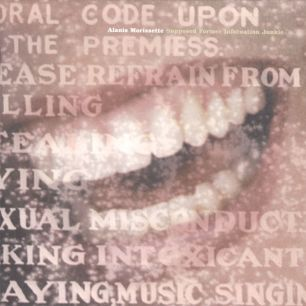 Paroles de chansons et pochette de l'album Supposed former infatuation junkie de Alanis Morissette