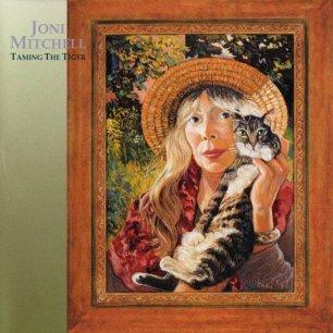 Paroles de chansons et pochette de l'album Taming the tiger de Joni Mitchell