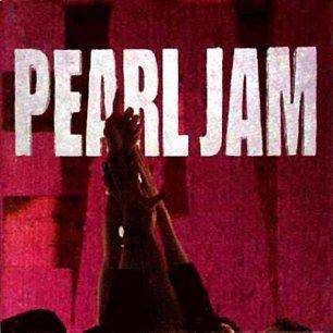 Paroles de chansons et pochette de l'album Ten de Pearl Jam