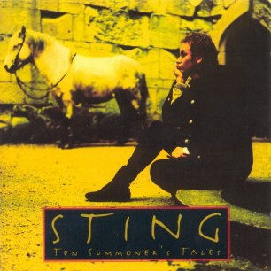 Paroles de chansons et pochette de l'album Ten summoner's tales de Sting (& The Police)