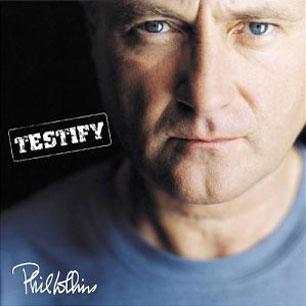 Paroles de chansons et pochette de l'album Testify de Phil Collins
