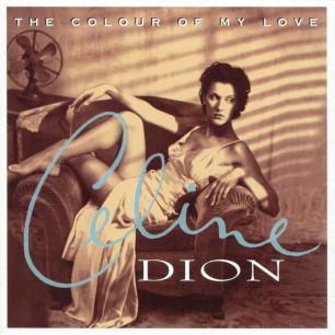 Paroles de chansons et pochette de l'album The colour of my love de Céline Dion
