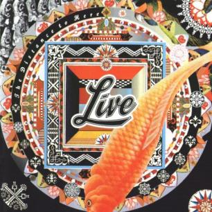 Paroles de chansons et pochette de l'album The distance to here de Live