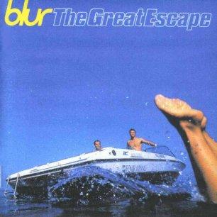 Paroles de chansons et pochette de l'album The great escape de Blur