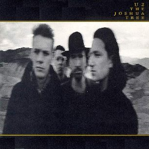 Paroles de chansons et pochette de l'album The joshua tree de U2