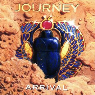 Paroles de chansons et pochette de l'album Arrival de Journey