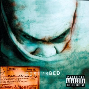 Paroles de chansons et pochette de l'album The sickness de Disturbed