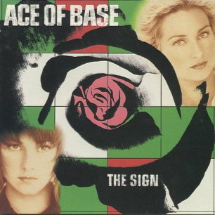Paroles de chansons et pochette de l'album The sign de Ace Of Base