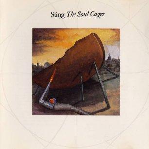 Paroles de chansons et pochette de l'album The soul cages de Sting (& The Police)