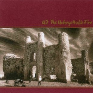 Paroles de chansons et pochette de l'album The unforgettable fire de U2